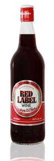 J. Wray & Nephew Red Label Wine 750ml - Case of 12